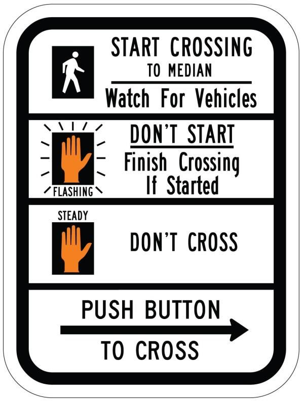 Traffic Safety Sign
